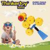 2015 neues Fisch-Form-Baumuster-Plastikspielzeug-Kinder, die Spielwaren aufbauen