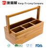 Bamboo коробка с поднимаясь ручкой