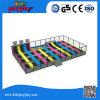 Preiswertestes Vierecks-bunte Trampoline mit Basketball-Band-und Cer-Standard