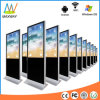 Fußboden-Standplatz LCD, der Bildschirm-Digitalsignage-Kiosk bekanntmacht
