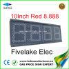 Aprobado CE LED de gas al aire libre Mostrar precio (NL-TT25-3R-RED-UE)