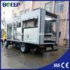 Impianto di per il trattamento dell'acqua messo in recipienti di vendita calda per acque di rifiuto
