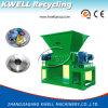 De alta eficiencia de dos ejes Shredder plástico / sistema de destrucción de plástico