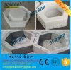 Plastique creux concret hexagonal de brique pavant des moulages pour le pavé