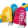 Мешок Drawstring вкладыша гимнастики Polyetser оптового типа Backpack Nylon выдвиженческий