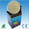 A luz do ponto do diodo emissor de luz MR16, projector de GU10 60LED, MERGULHA a lâmpada do ponto de 60 diodos emissores de luz