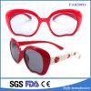 A estrutura de tamanho grande coloridos de promoção do espelho de Fumaça Bonitinha óculos