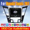 ヒュンダイのソナタのためのGPSの自動DVDプレイヤー