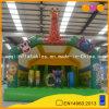 子供(AQ230-6)のための動物園の主題の膨脹可能な跳躍の警備員