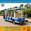 電気14人の乗客観光電池小型バス