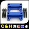 Piezas que trabajan a máquina de torneado de encargo del CNC del CNC del acero inoxidable de la alta precisión que muelen
