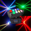 Sale chaud 8*10W RGBW 4in1 DEL Beam Spider Disco Light