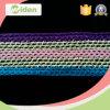 шнурок вязания крючком хлопка цвета 3cm африканский симпатичный Multi