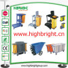 Multi-Function Jantior Cart with Cover for Hotel Housekeeping