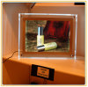 Casella chiara di cristallo del basamento decorativo della Tabella della memoria A4