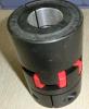 Aluminium d'acier inoxydable de précision, couplage de rotation de coupleur en métal de commande numérique par ordinateur