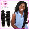Extensão 100%, fornecedor profunda do cabelo da onda do cabelo humano de Remy da amostra livre da fábrica do cabelo