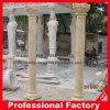 Römische Marmorspalte, Marmorpfosten