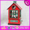 Деревянная игрушка нот Carousel корабля 2015, интересная деревянная коробка нот, деревянная коробка нот W07b023b конструкции подарка рождества комнаты птицы 2color