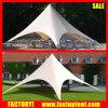 tente campante de chapiteau d'ombre d'étoile de famille du diamètre 10m de 6m 8m