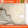 Papel de empapelar de oro del color para la decoración casera