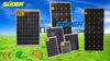 10W 20W 30W 50W 150W de alta frecuencia módulo solar para el Sistema Solar