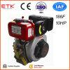 10HP de zwarte Reeks van de Dieselmotor van de Kleur