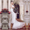 Appliques Tulle Real Photos Mermaid Wedding Dresses (TM-MS001)