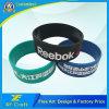 Braccialetto Colourful su ordinazione del silicone di Debossed di sport per il regalo di promozione (WB14-C)