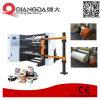 Papier à haute vitesse trancheuse rembobineur Machine avec l'arbre d'air pneumatique