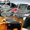 Android 5.1 GPS-Navigationsanlage-Kasten für videoschnittstelle usw. des Toyota-Land-Kreuzer-J200