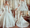 Do laço inchado de Tulle dos vestidos nupciais do querido vestidos de casamento feitos sob encomenda Y1011