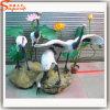 Скульптуры шаржа кораблей стеклоткани украшения сада искусственние