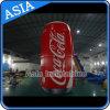 Publicitário Giant Inflatable Cans for Promotion, garrafa de água inflável