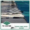 Spätester Entwurf 8 Jahre der Garantie-1.53*100m 0.3mm intelligente Ineinander greifen-Sicherheits-Pool-Deckel-in der Rolle für Inground Verein-Pool