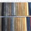 Couro sintético gravado colorido do plutônio do teste padrão para sacos, sapatas, vestuário, decoração (HS-Y51)