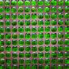 Pavimentazione di pietra verde di vetro di mosaico