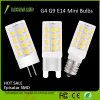 High Brightness 2835 SMD 5W E14 G4 G9 ampoule LED