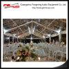 Tienda hermosa del banquete de boda con el sistema transparente del PVC