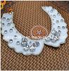 De alta calidad artesanal Peral falso acrílico Collar Collar Collar chapado en oro Collar Collar Collar de accesorio de tela (Pnc-003)