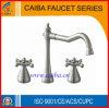 La nouvelle conception a balayé le robinet/mélangeur/prise de bassin de nickel de Chine