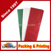 Papel de tejido - rojo, verde y blanco (510049)