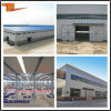 Almacén prefabricado industrial de la estructura de acero del palmo grande