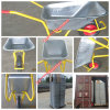 Russisches Russland Model Wb6404h Schweres-Duty Construction Wheelbarrow mit Metal Wheel