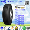 Le pneu radial du camion Bt219 pour l'acier et la remorque roule (315/80R22.5)