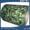 La couleur de camouflage de PPGI a enduit la bobine d'une première couche de peinture en acier galvanisée