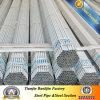 Lista de precios galvanizada del tubo de acero de carbón de la INMERSIÓN caliente de ERW