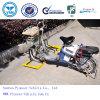 Yellow Spraying Surface Rack (제안되는 ISO OEM/Suzhou 개척자 Vehicle) 덕분에 옥외 Bike Stand Rack