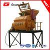 Máquina pequena do misturador Js500 concreto com eixos dobro