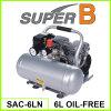 6L 3 / 4HP 550W Мини Воздушный компрессор